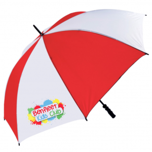 low cost promotional golf umbrella