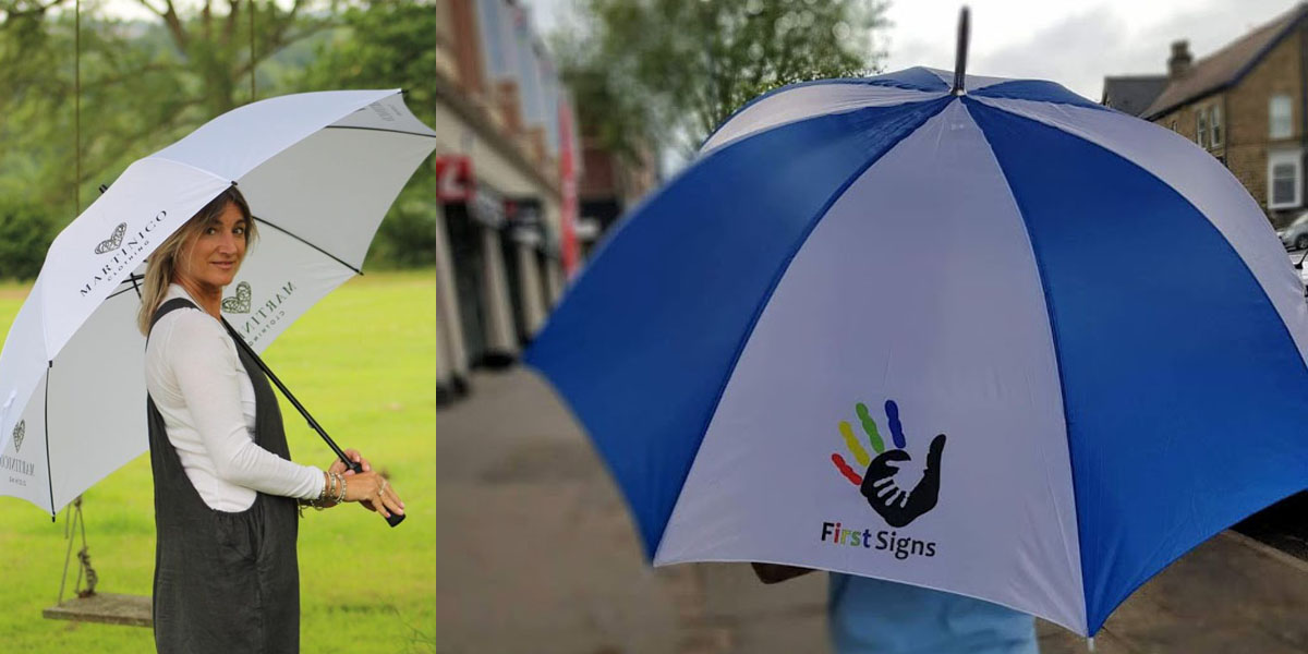 Free UK Delivery Promotional Umbrellas